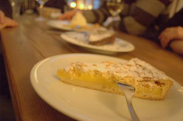 Zitronen-Mandel-Tarte
