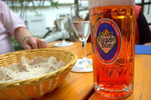 Bier mit Grenadine