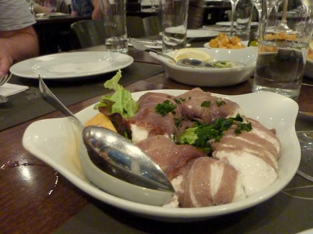 Thunfisch mit Schafskäse