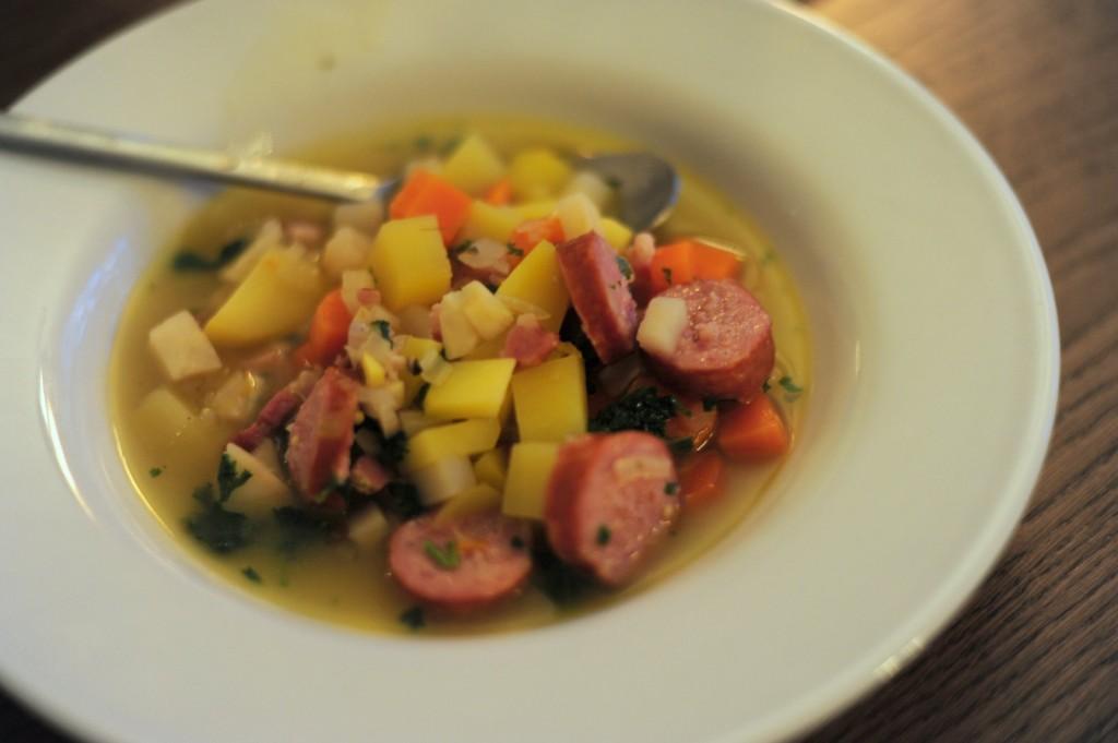 Suppe von oben